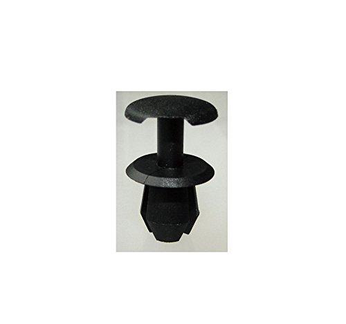 Faros delanteros parabrisas lavadora tipo retenedor Clip 10x8.5mm-Nylon (para VW #333-867-633-4FB) (Pack de