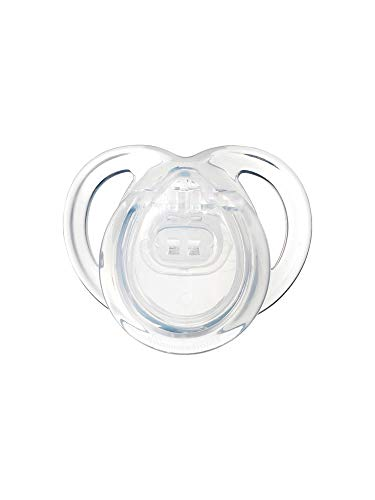 """TOMMEE TIPPEE""""NEWBORN"""" - 1x Physiological Silicone Pacifier/TRANSPARENT (0-2m+)"""
