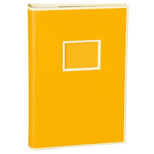 Semikolon (351116) 300 Pocket Album sun (gelb) - Fotoalbum/Fotobuch mit Einschubtaschen für 300...