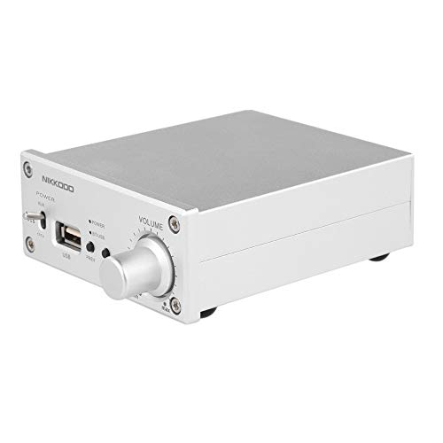 Docooler NK-268 Digital Audio Endstufe Bluetooth 4.0 Mini HiFi Audio Receiver Stereo Verstärker Dual Channel 50W + 50W mit Netzteil EU Stecker