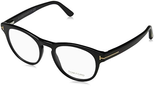 Tom Ford Herren Ft5426 Brillengestelle, Schwarz (NERO LUCIDO), 49