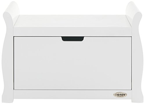 Obaby Stamford Toy Box, White Best Price and Cheapest