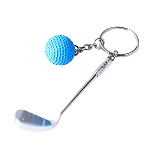(Vosarea Sport Schlüsselanhänger Golf Ball Schlüsselanhänger Charme Anhänger Dekorative Schlüsselanhänger Tasche Anhänger (zufällige Farbe))