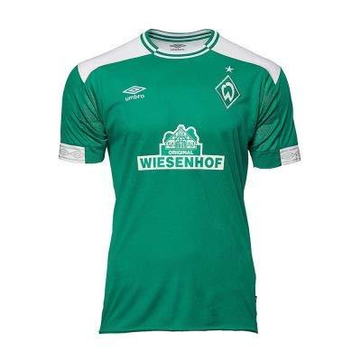 UMBRO Herren Werder Bremen Home SS Jersey, grün, S