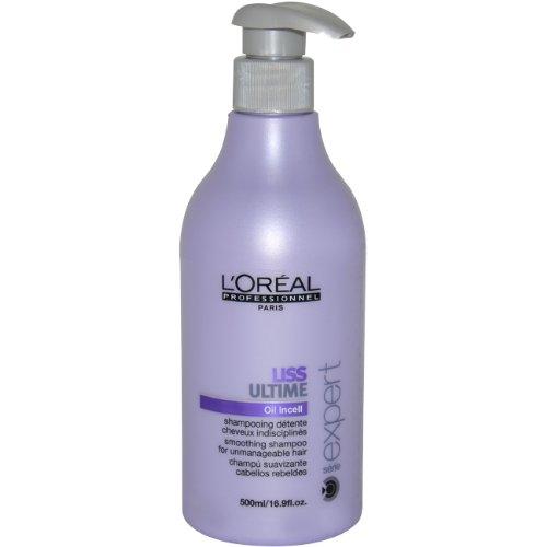 L'Oréal Professionnel Shampooing Cheveux Indisciplinés Liss Ultime 500 ml