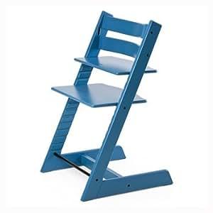 Stokke 100115 kinderstuhl hochstuhl tripp trapp blau for Stokke tripp trapp amazon