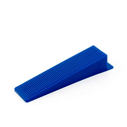 500 pcs Lantelme karofit azulejos cuñas de nivelación para lengüetas, Wedge para la planta o de montaje en pared - nivelación - sistema de puntería - la ayuda por el que se