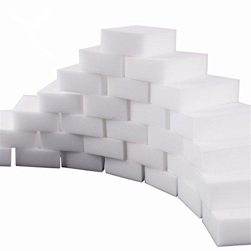 10Borrador mágico Esponjas de limpieza casi todas las superficies–blanco cocina limpieza esponja–esponja para limpiar el coche–sin productos químicos limpiador de manchas y Mark Retiro 9*6*3CM