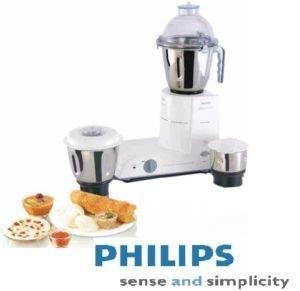 Philips Hl-1618/03 550-watt Mixer Grinder With 4 Jars