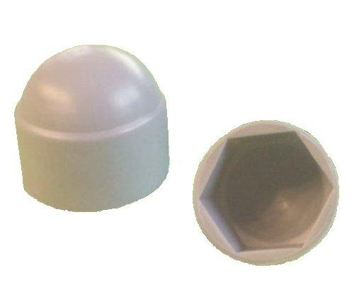 25 x couvercle / bouchon M 20 100 pièces M6 Hex hexagone en plastique étanche à la poussière gris dôme boulon ecrou Protection caches