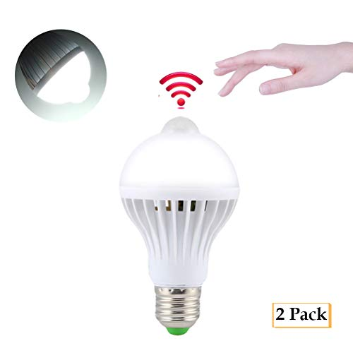 Safe-t-beam (Ralbay E27 LED PIR Infrared Motion Detection Sensor Light Bulb Smart Light Bulb Energy Saver (7W))