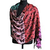 #10: Jubination Ladies Multicolor Shimmer Stole / Shawl / Scarf (Mix Color)