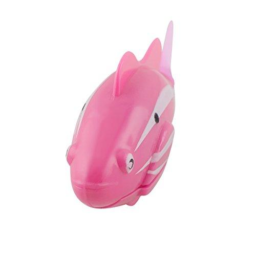 Scenstar Robo-Fisch Clownfisch Lebensechte Bewegungen, Auf- und Abtauchen | Wasserspaß für Kinder | elektronisches Wasser-Spielzeug Deep Sea Wimplefish, elektronisches Haustier bunt - 4