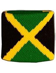 Digni® Poignet éponge avec drapeau Jamaique