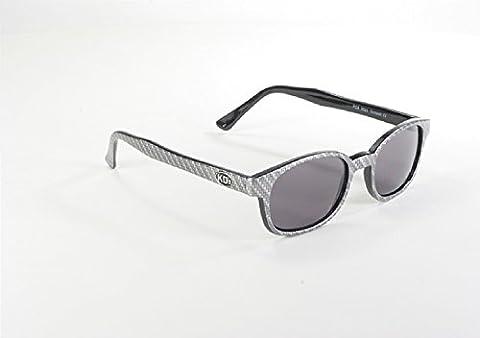 Original KD forme de lunettes de soleil KDS comme porté par Jax Teller sur Sons of Anarchy (en fibre de carbone Look) KD