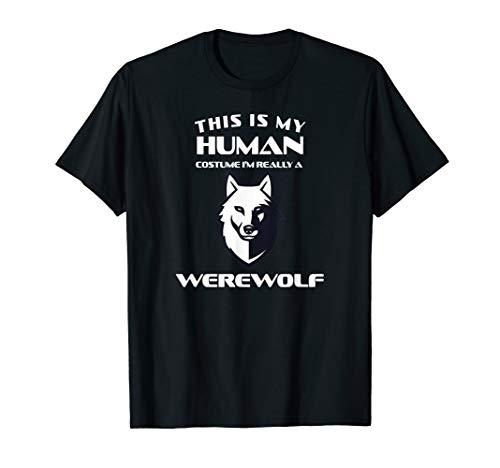 Werwolf Kostüm Tier Wolf Hund Spruch Geburtstag Geschenk T-Shirt (Grau Werwolf Kinder Kostüm)