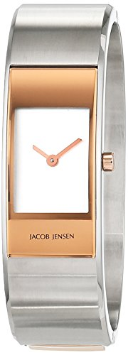 Jacob Jensen Damen-Armbanduhr Analog Quarz Edelstahl 32455