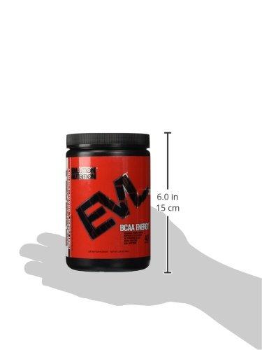 Evlution Nutrition BCAA ENERGY | Suplemento En Polvo De Aminoácidos Para Aumento Muscular Alto Rendimiento Resistencia | Contiene 30 Tomas | Sabor Ponche de Frutas