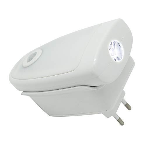 MELIANDA MA-3800 LED Nachtlicht Orientierungslicht mit Dämmerungssensor und Taschenlampenfunktion