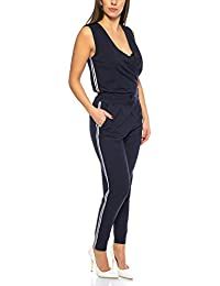 29df10a5cd78 ONLY Damen Overall eleganter Jumpsuit Einteiler OnlPoptrash Anzug