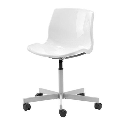 IKEA Drehstuhl'Snille' höhenverstellbarer Schalensitz - drehbar - in WEISS