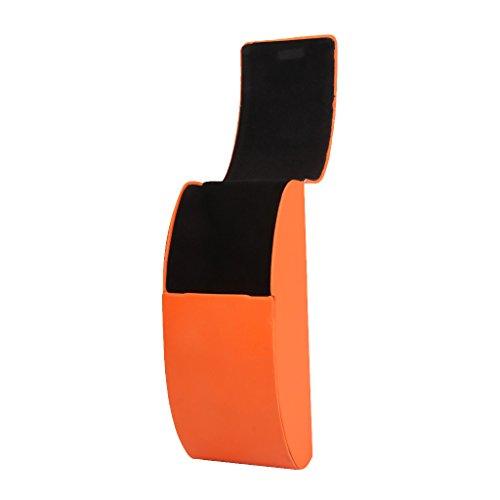 Tragbaren Brillen Sonnenbrille Harten Fall Aufbewahrungsbox Schutz Orange