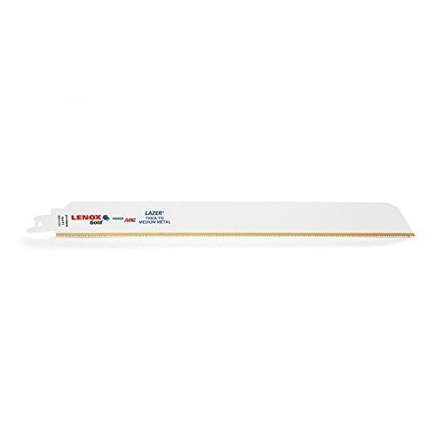 Tpi Bi-metal Reciprocating Saw (Lenox Tools 2110112114GR 04mm 14TPI Gold Power Arc Säbelsägeblatt für dicke und Medium Metall schneiden (5Stück))