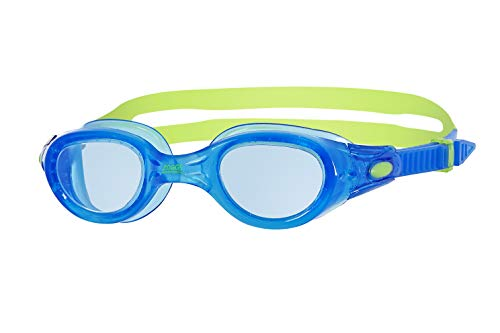 Zoggs Kinder Schwimmbrille Phantom Junior, blue/green/tint, one size