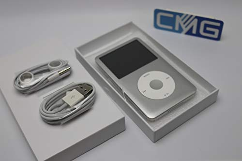 Apple iPod Classic 7.Generation 160GB 7G Silber (aktuellstes Modell) MC293QG inkl Gelhülle (160 Ipod Gb)