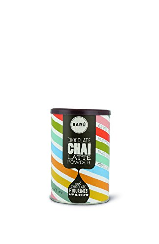 Barú Chocolate Chai Latte Powder & Schokofiguren, 2er Pack (2 x 250 g)