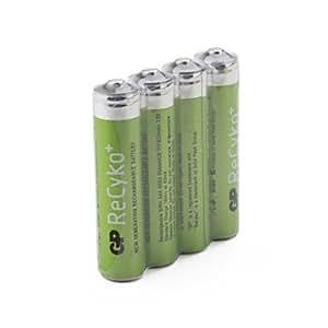bon service GP recyko + 1.2v 820mah Ni-MH rechargeables AAA (4-pack)