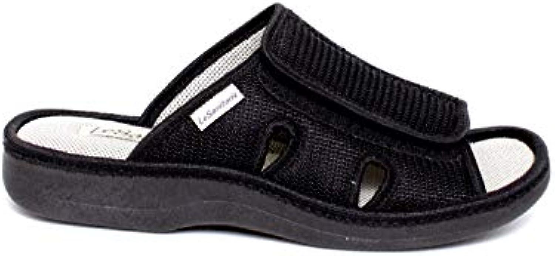 Le sanitarie - Pantofola Uomo Tessuto | adottare  | Sig/Sig Ra Scarpa