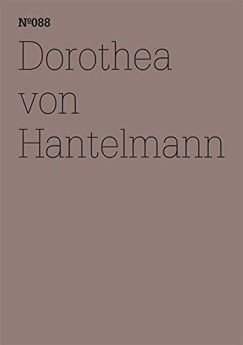 Dorothea von Hantelmann: Notizen zur Ausstellung (dOCUMENTA (13): 100 Notes - 100 Thoughts, 100 Notizen - 100 Gedanken # 088) (dOCUMENTA (13): 100 Notizen - 100 Gedanken 88) (German Edition) por Dorothea von Hantelmann