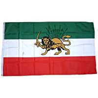 Flagge Fahne Iran Royal L/öwe 90 x 150 cm FLAGGENMAE/®