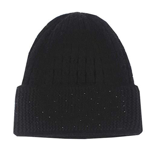 Preisvergleich Produktbild URIBAKY Männer Frauen Baggy Warm Crochet Winter Wolle Stricken Ski Beanie Skull Slouchy Caps Hut