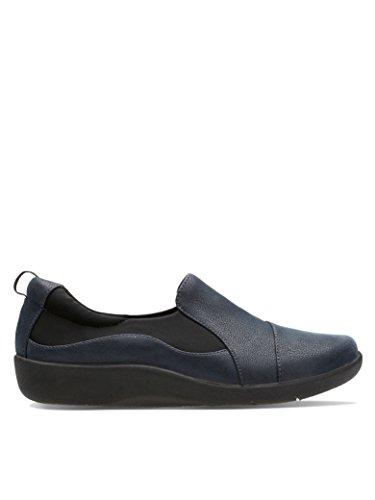 Clarks Sillian Paz Ladies Casual Shoes Blu