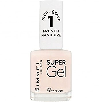 Rimmel London French Manicure #092 Supergel, Ivory Tower, 12 ml