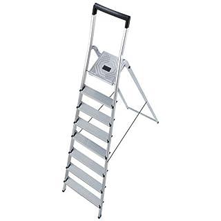 Abbey Hailo 8140-801 L40 150kg Capacity Aluminium Stepladder 8 Tread