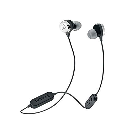 Focal sphear wireless auricolare per telefono cellulare stereofonico nero