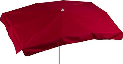 beo Parasol rectangulaire imperméable, 130x 200cm Rouge