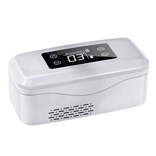 Frigorifero Portatile per Insulina Mini Frigo Frigorifero per Auto Medico Ad/Dc Elettrico Refrigeratore Home Office Campeggio