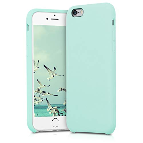 kwmobile Apple iPhone 6 / 6S Hülle - Handyhülle für Apple iPhone 6 / 6S - Handy Case in Mintgrün matt