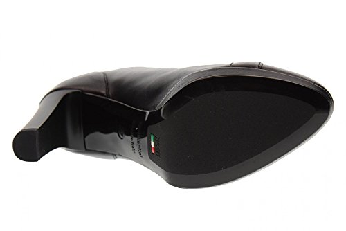 NERO GIARDINI Scarpe Donna Stivaletti con Tacco A719742DE/100 Nero Nero