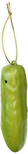 Lucky Yodelling Christmas Pickle Ornament by Archie McPhee (Pickle Ornament)
