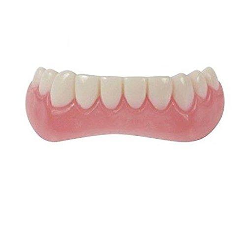 ling, untere Zahnreihe, temporärer Kosmetikartikel (Lokale Kostüm)