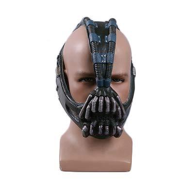 The Dark Knight Batman Dunkler Ritter Aufstieg Erwachsene Größe Cos Bain Maske Helm Batman Halloween Maske Prop - Dark Helm Kostüm