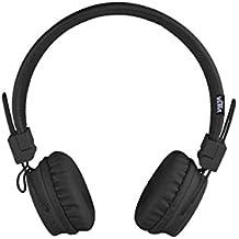 Vieta VHP-BF180BK - Auricular de diadema con Bluetooth, color negro