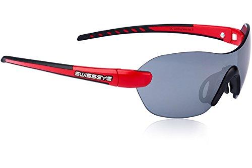 Swiss Eye Sportbrille Horizon, red matt/Black, One Size