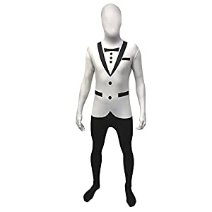 Morphsuits - Disfraz smoking adultos, talla M (150 cm) (MPTWM)