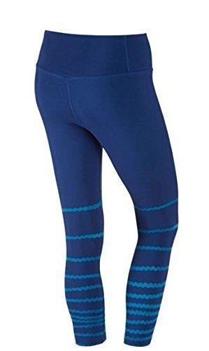 Nike Damen Legend Poly Burnout Tight Women Oberbekleidung, Dunkelblau, S (Nike Taschen Für Frauen Fitness-studio)